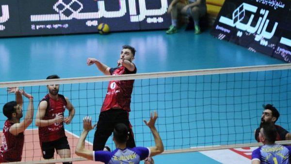 لیگ برتر والیبال: برد متزلزل شهرداری ارومیه برابر همنام گنبدی
