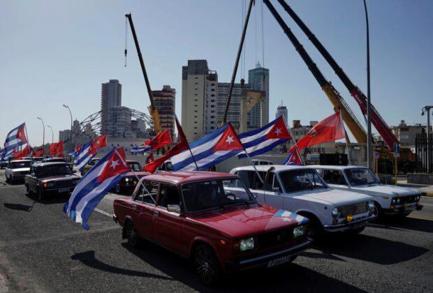 کوباییها با این روش به تحریمهای آمریکا اعتراض کردند/عکس