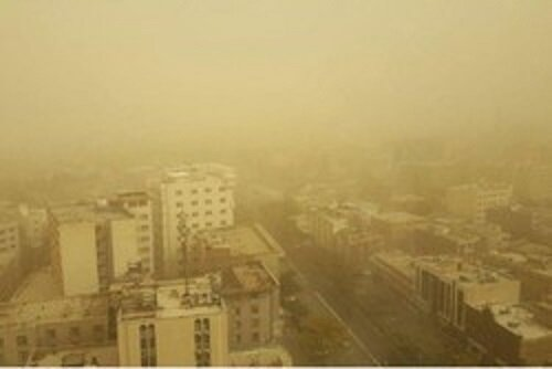 پیشبینی طوفانهای گرد و غبار و ماسه در برخی مناطق